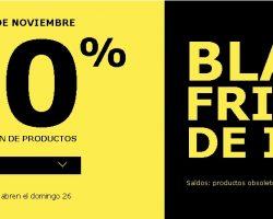Catálogo IKEA Black Friday 20 Noviembre al 26 Noviembre 2017